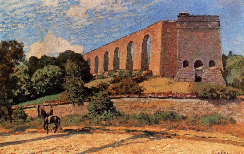 Aqueduct at Marly