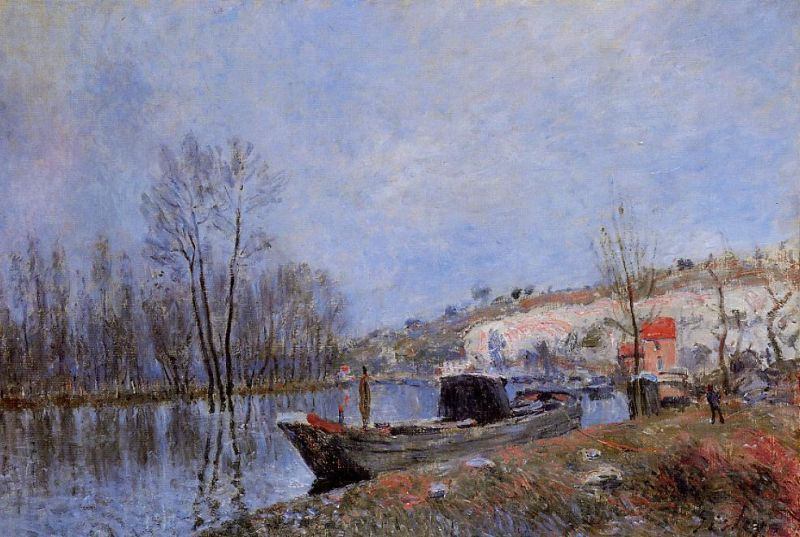 Banks of the Loing Towards Moret