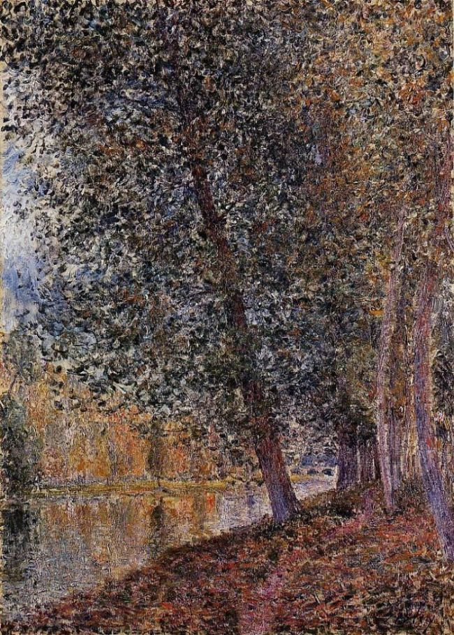 Banks of the Loing, Autumn