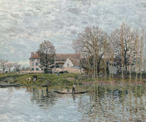 Banks of the Seine at Port-Marly