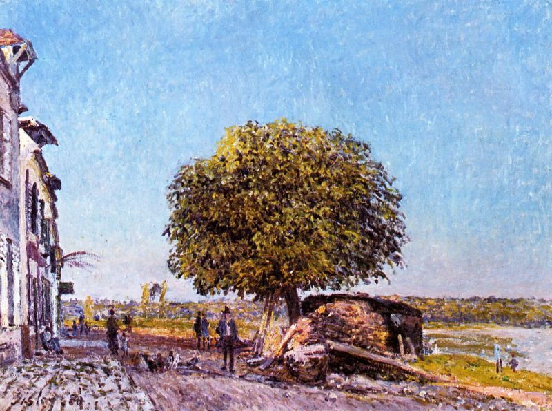 Chestnut Tree at Saint-Mammes