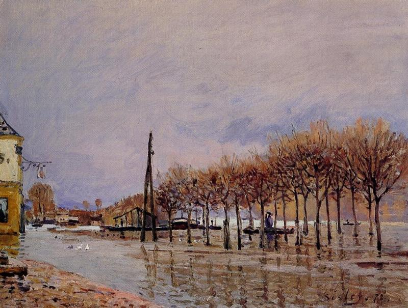 Flood at Port-Marly II
