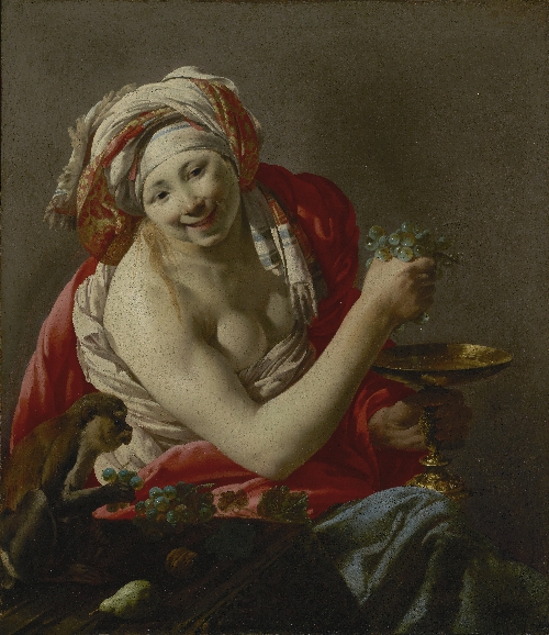 Bacchante with an Ape