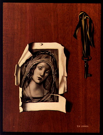 A Trompe-l'oeil Painting with a Botticelli