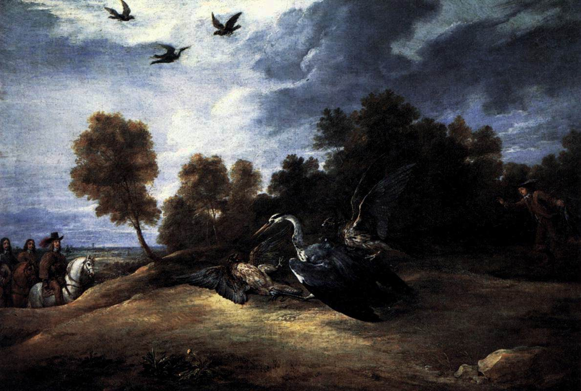 Heron Hunting with the Archduke Leopold Wilhelm