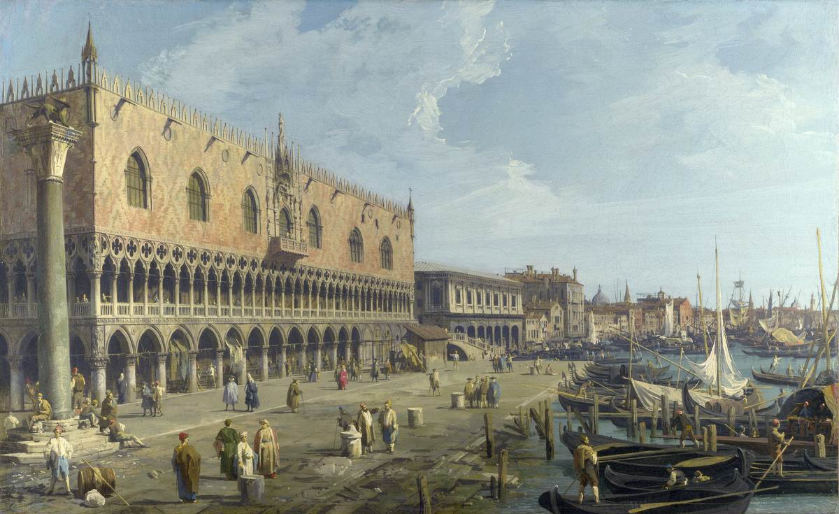 The Doge's Palace and the riva degli schiavoni
