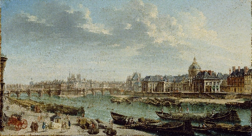 A View of Paris with the Ile de la Cite