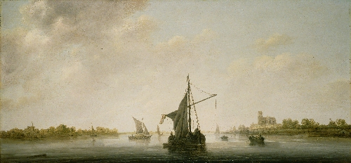 A View of the Maas at Dordrecht