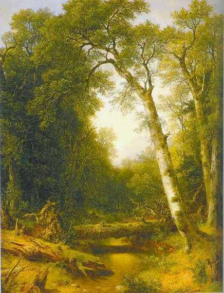 A Stream In The Wood 1865