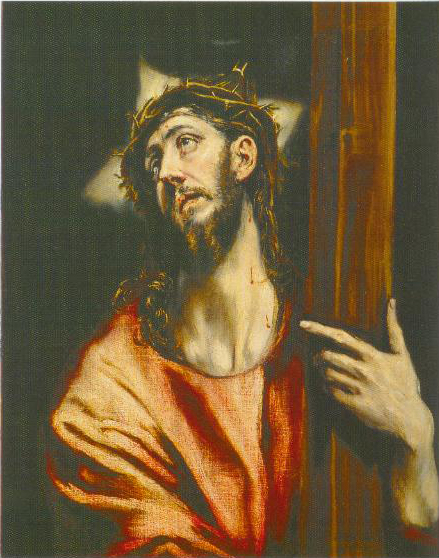 Christ Holding The Cross 1602 1607