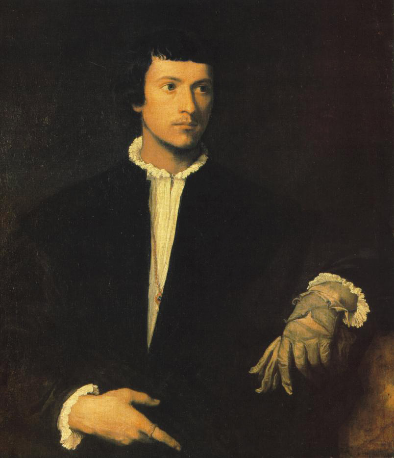 Man with Gloves
