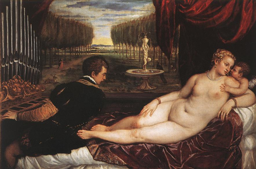 Venus with Organist and Cupid