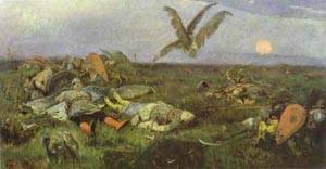 After Prince Igois Battle With The Polovtsy 1880