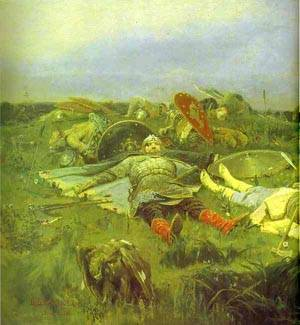 After Prince Igors Battle With The Polovtsy Detail 1880