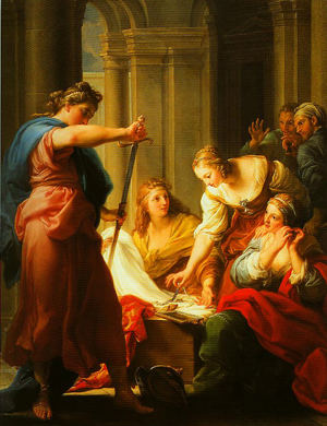 Achilles at the Court of Lycomedes