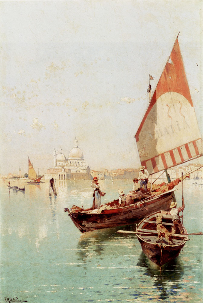 Sailboat In A Venetian Lagoon