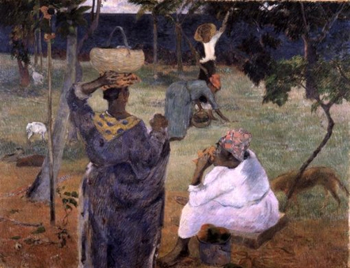 Among the Mangoes 1887