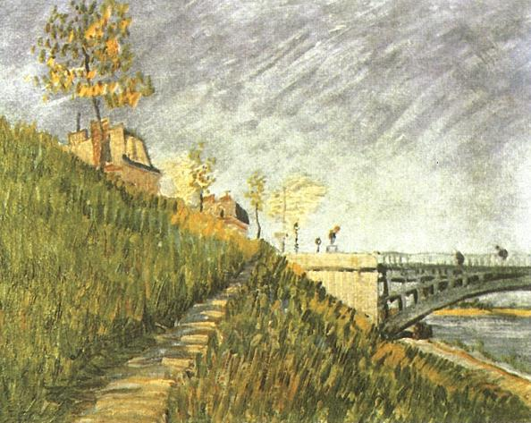 Banks of the Seine with Pont de Clichy