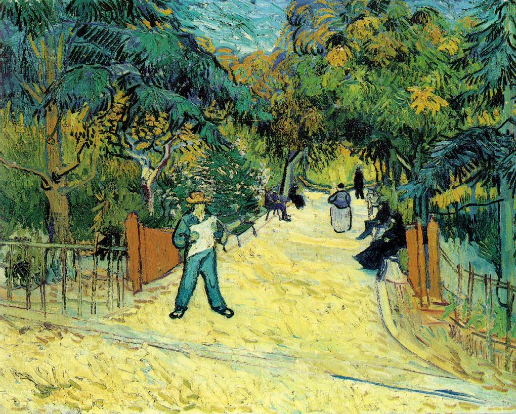 Van Gogh Entrance to the Public Park in Arles Oil Painting