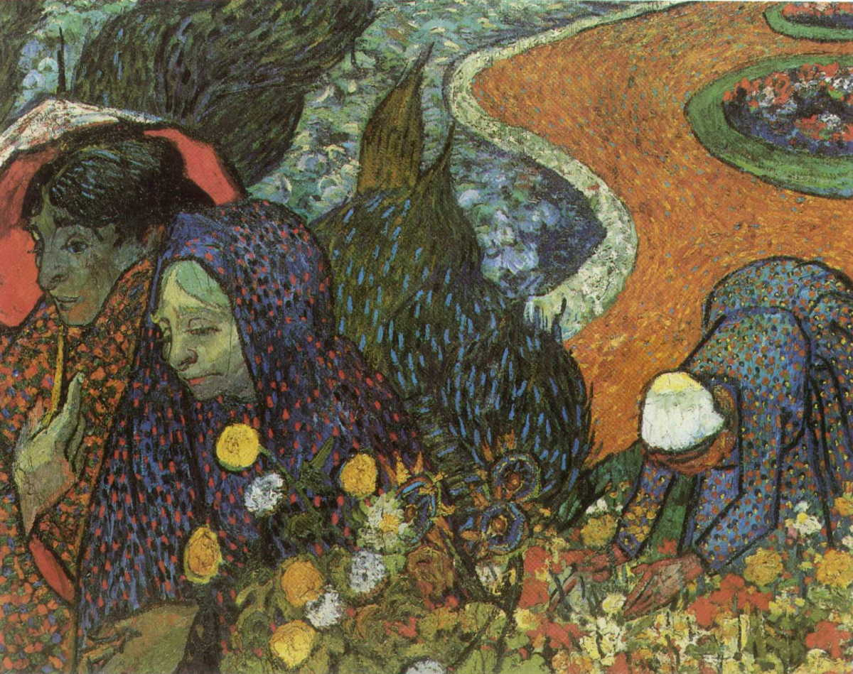 Van Gogh Memory Of The Garden At Etten Oil Painting Reproduction
