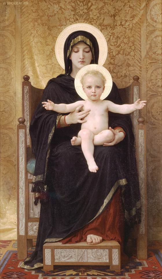 The Seated Madonna