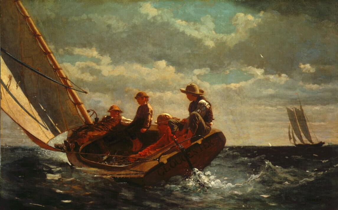 Breezing Up (A Fair Wind), 1873-1876