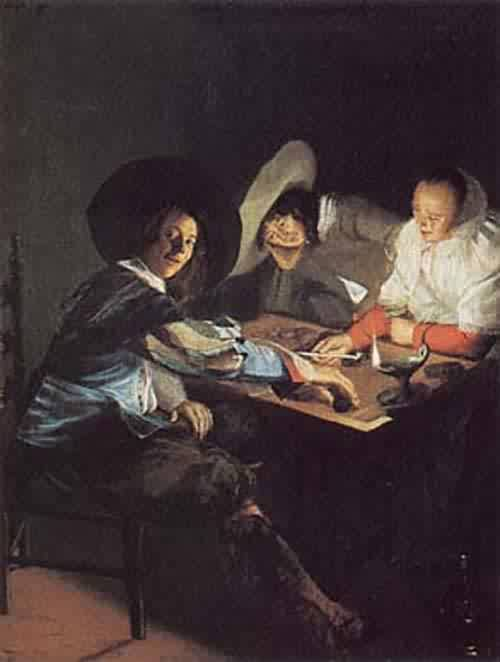 A Game of Tric Trac about 1630