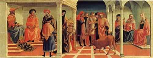 A Miracle of Saint Silvester 1450s