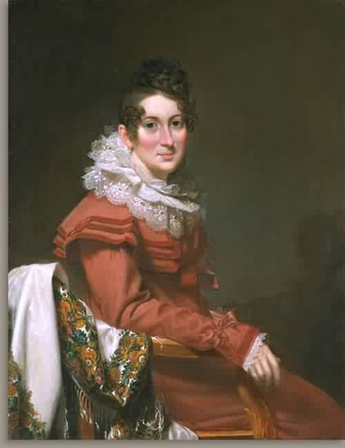 Electa Barrell Wilder Mrs Sampson Wilder about 1823