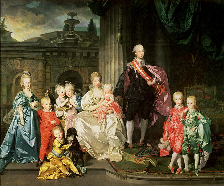 Grand Duke Pietro Leopoldo of Tuscany with his Family