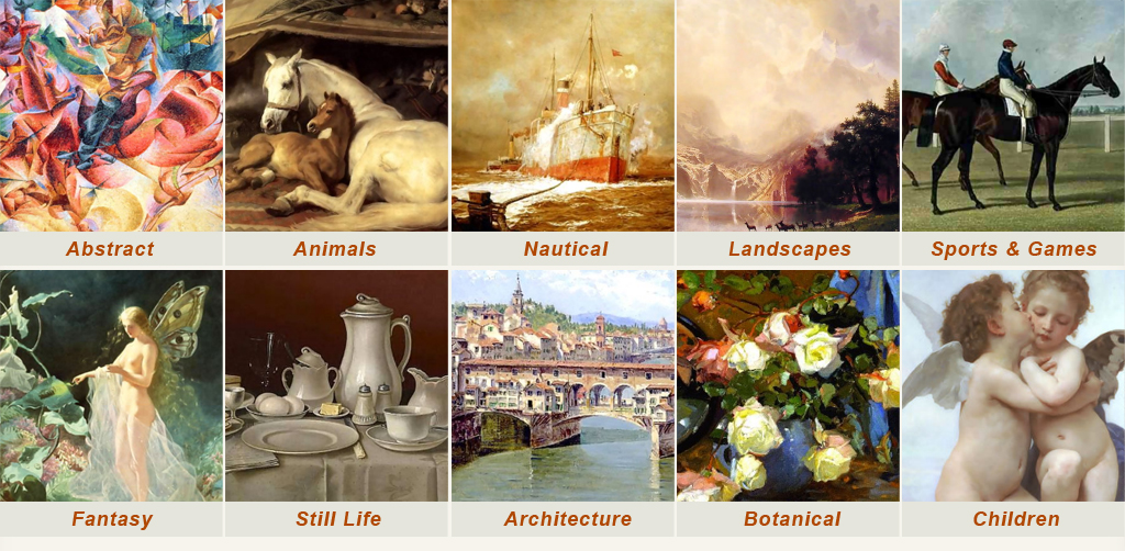 Most Popular Painting Subjects